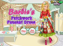 barbie rochie traditionala...