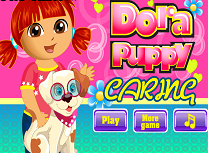 Play dora are grija de catel