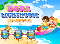 Play dora distractie pe mare