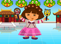Play dora in china