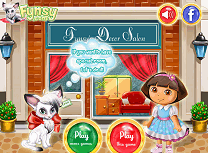 Play dora si fynsy decoratii